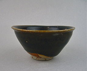 A Good Brown Glazed Bowl (Song Dynasty Henan Wares)