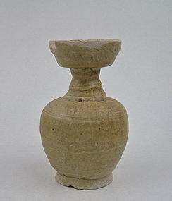 A Celadon Vase With Cup Shape Mouth (Northern Song)