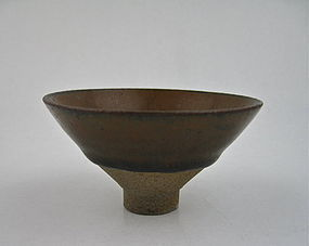 Rare Jian Wares Conical Shaped Tea-Bowl With Hare's Fur