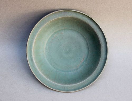 A SOUTHERN SONG CELADON DISH