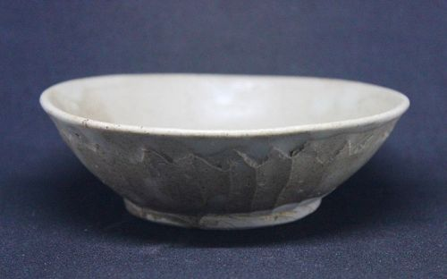 A LOTUS SHAPED SHALLOW BOWL