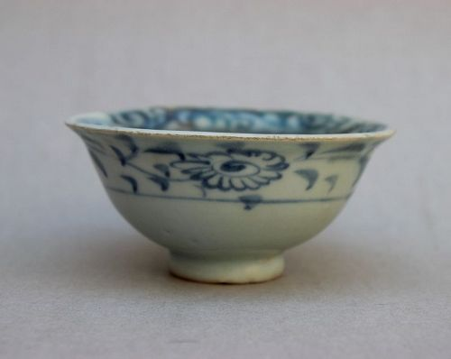 Example of Blue and White Yuan Dynasty Cup