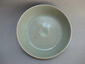A Rare Celadon Washer With Pale Bluish Green Glazed