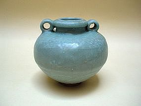 A Longquan Jar With Dragon