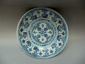 An Extraordinary Ming Dynasty Chenghua B/W Small Dish