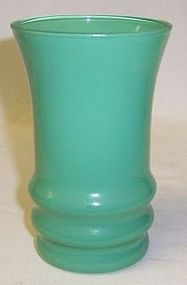 Anchor Hocking RAINBOW Green 4 1/2 Inch TUMBLER