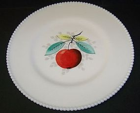 Westmoreland BEADED EDGE 10 1/4 Hp APPLE PLATE
