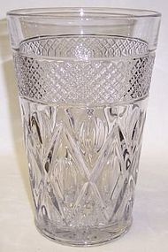 Imperial Crystal CAPE COD 8 1/2 Inch FLIP VASE