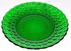 Anchor Hocking Fire King Green BUBBLE 9+ DINNER PLATE