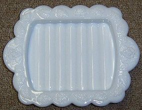 Westmoreland PANELED GRAPE 5 In X 6.5 In SOAP DISH