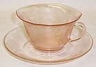 MacBeth Evans Pink DOGWOOD Thin CUP and SAUCER