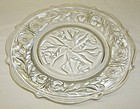 McKee Crystal ROCK CRYSTAL 8 1/4 Inch SALAD PLATE