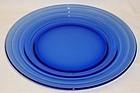 Hazel Atlas Cobalt Blue MODERNTONE 8 7/8 Inch PLATE