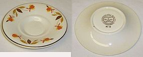 Hall China AUTUMN LEAF MUSTARD Under Plate-ONLY