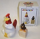 Looney Tunes '93 FOGHORN LEGHORN Salt & Pepper, OB