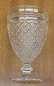 Hocking Crystal MISS AMERICA 4.5 In 5 Oz JUICE GOBLET