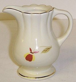 Hall China 1998 NALCC Autumn Leaf 3 1/4 Inch CREAMER