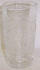 Anchor Hocking Crystal SANDWICH 3 5/8 In JUICE TUMBLER