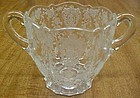 Cambridge Crystal ROSE POINT 3900/41 3 Inch SUGAR BOWL
