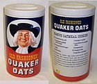 Regal OLD FASHIONED QUAKER OATS Cookie Jar w/Lid