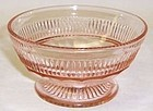 Hocking Pink CORONATION Footed SHERBET DISH