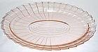 Jeannette Pink SIERRA PINWHEEL 11 Inch OVAL PLATTER