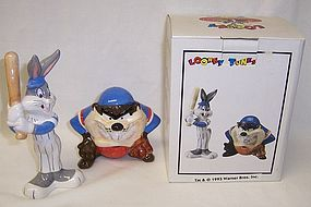 Looney Tunes 93 TAZMANIAN-BUGS BUNNY Salt and Pepper