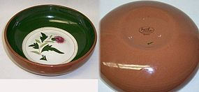 Stangl Pottery THISTLE 8 Inch ROUND VEGETABLE BOWL