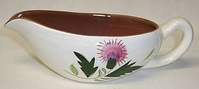 Stangl Pottery THISTLE GRAVY or SAUCE BOAT