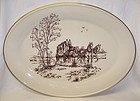 Lenox Ivory STAGE COACH SPECIAL 16 Inch OVAL SERVING PLATTER