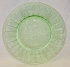 Jeannette Green FLORAL POINSETTIA 7 3/4 Inch SALAD PLATE