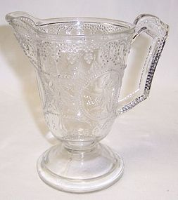 Boston Sandwich Glass Crystal MINERVA aka ROMAN MEDALLION Creamer