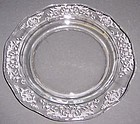 Fostoria Elegant Glass Crystal NAVARRE 7 3/8 Inch SALAD PLATE