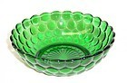 Anchor Hocking Fire King Green BUBBLE 5 1/4 Inch CEREAL BOWL