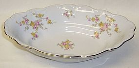JoHann Haviland MICHELE 10 Inch OVAL VEGETABLE BOWL