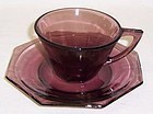 Hazel Ware Amethyst MOROCCAN CUP and SAUCER