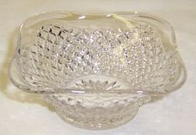Westmoreland Crystal ENGLISH HOBNAIL 3 3/8 Inch SQUARE NUT CUP