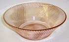Federal Pink DIANA Depression Glass 9 Inch SALAD BOWL