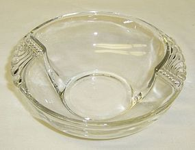 Federal Crystal Depression Glass COLUMBIA 5 Inch BERRY BOWL
