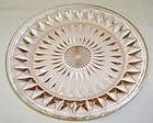 Jeanette Depression Glass Pink WINDSOR DIAMOND 7 Inch SALAD PLATE