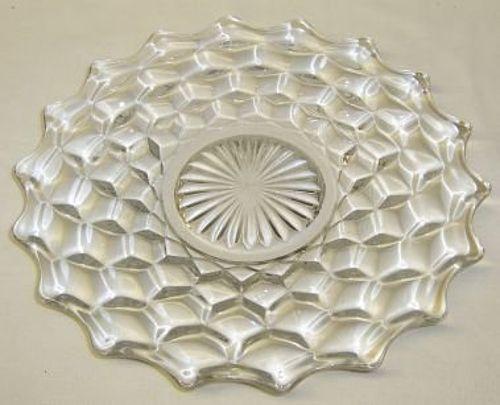 Fostoria Crystal AMERICAN 7 1/2 Inch SALAD PLATE