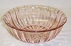 Hocking Depression Glass Pink FORTUNE 5 1/4 Inch CEREAL BOWL