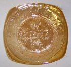 Jeannette FLORAGOLD LOUISA 6 Inch DESSERT PLATE