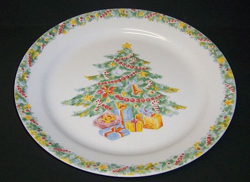 Corning Corelle CHRISTMAS JOY 10 1/4 Inch DINNER PLATE