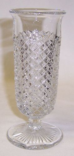 Westmoreland Glass Crystal ENGLISH HOBNAIL 5 1/2 Inch High PARFAIT