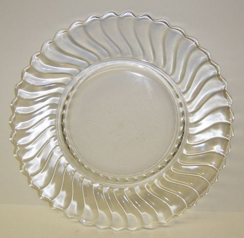 Fostoria Crystal Elegant Glass COLONY 9 1/4 Inch DINNER PLATE