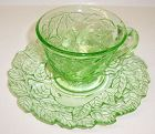 Indiana Green AVOCADO 'SWEET MEAT' No. 601 CUP and SAUCER