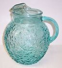 Anchor Hocking Aqua MILANO 8 1/4 Inch 96 Ounce WATER PITCHER