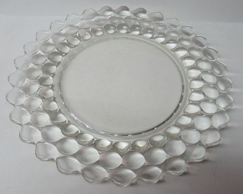 Westmoreland Crystal THOUSAND EYE 10 1/4 Inch DINNER PLATE