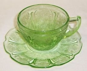 Jeannette Green CHERRY BLOSSOM CUP and SAUCER
